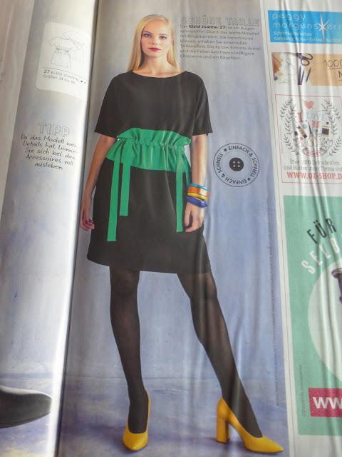 Kleid Joanne aus der Fashion Style 1/2018 für den Jil Sander Sew Along