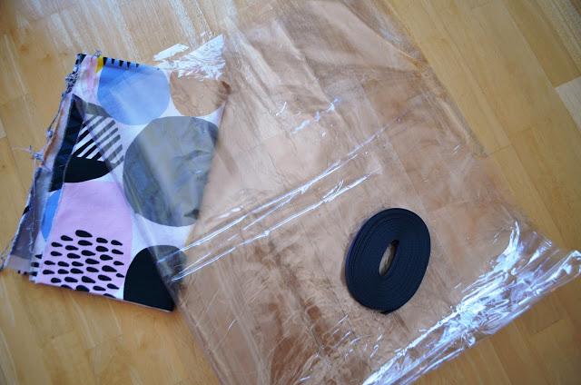 Jil-Sander-Sew-Along, Material Tasche