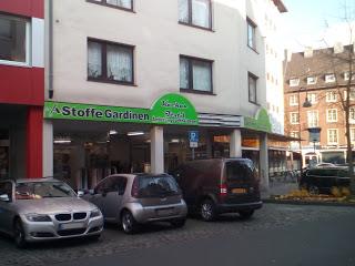 Stoffgeschäft und Änderungsschneiderei Aachen Innenstadt